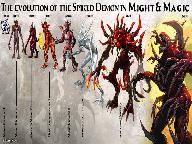 Эволюция Демонов в Might and Magic