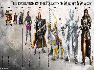 Эволюция Паладинов в Might and Magic