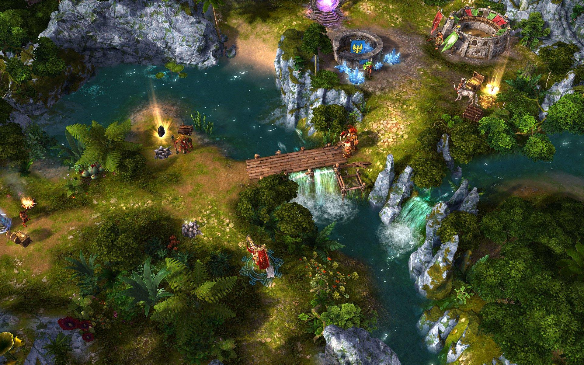 Скачать игру Might & Magic Heroes VI - Gold Edition бесплатно.