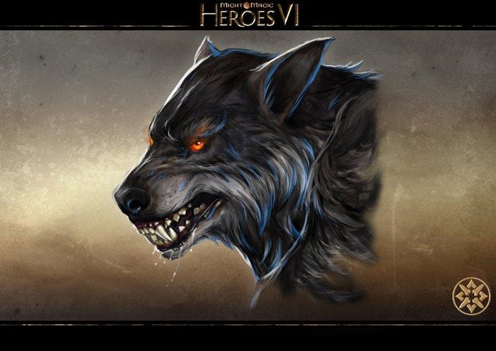 герб волка